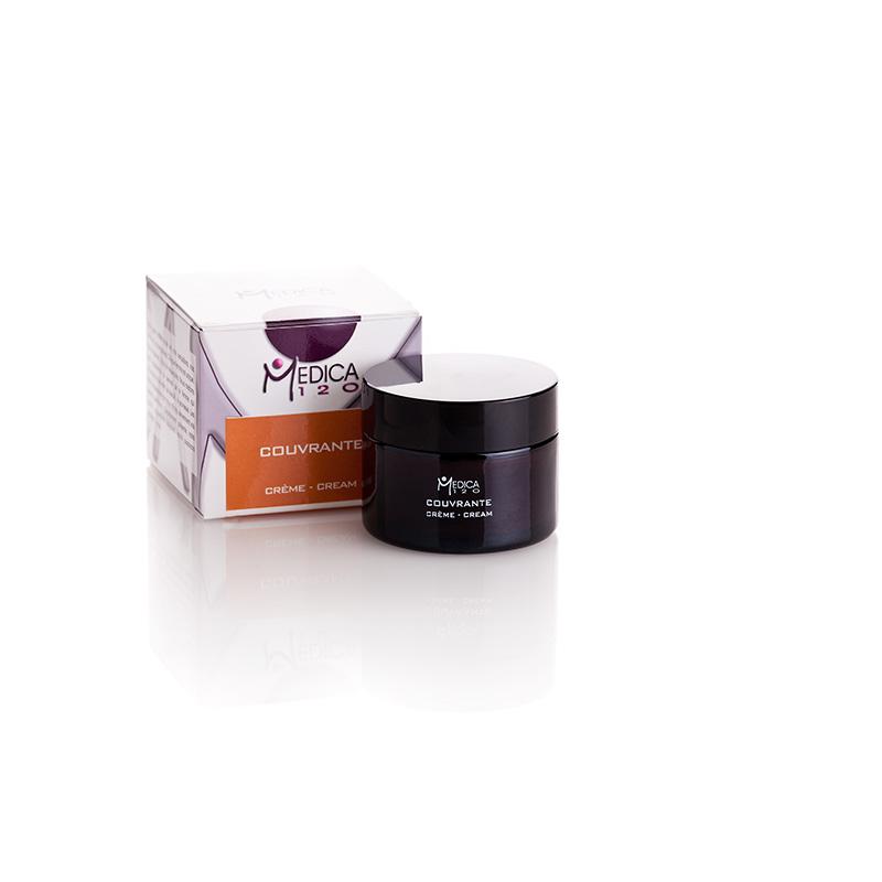 Ενυδατική και καλυπτική κρέμα με χρώμα για ακνεϊκά δέρματα. Creme Couvrante, Medica120
