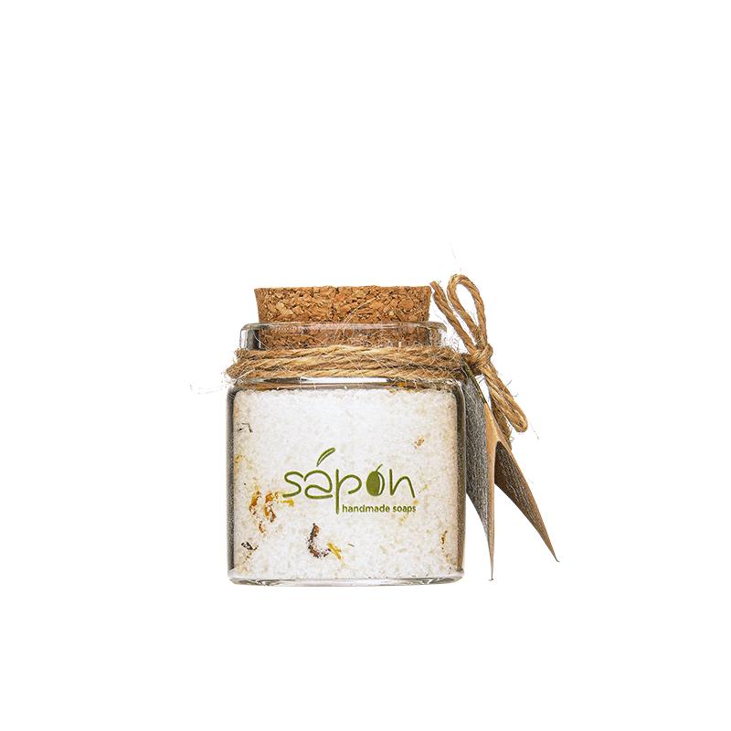 Ενυδατικά, Kαταπραϋντικά Άλατα μπάνιου Epsom με άρωμα ρόδι,Sapon