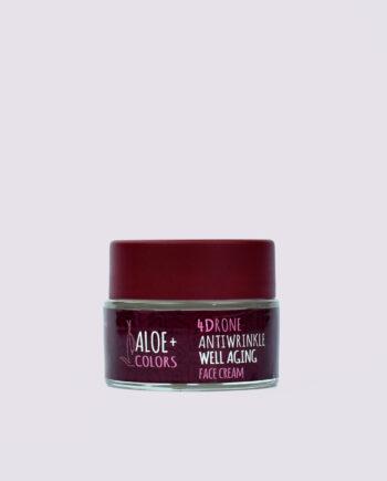 Κρέμα προσώπου 'Well Aging Antiwrinkle', Aloe+Colors, για ώριμες επιδερμίδες.