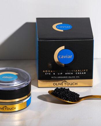 Κρέμα Ματιών & Χειλιών με εκχύλισμα χαβιάρι από οξύρρυγχο. Advanced Caviarlift Eye and Lip Area Cream, Olive Touch