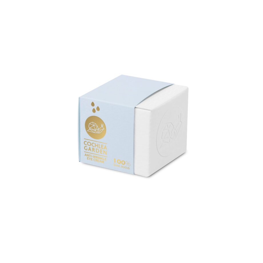 Αντιρυτιδική κρέμα για τα μάτια με βλέννα σαλιγκαριού, υαλουρονικό οξύ & πεπτίδια, Cochlea Garden