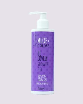 Aπαλό αφρόλουτρο Be Lovely Aloe+Colors, είναι ιδανικό για καθημερινή χρήση, καθαρίζει απαλά και ενυδατώνει το δέρμα.
