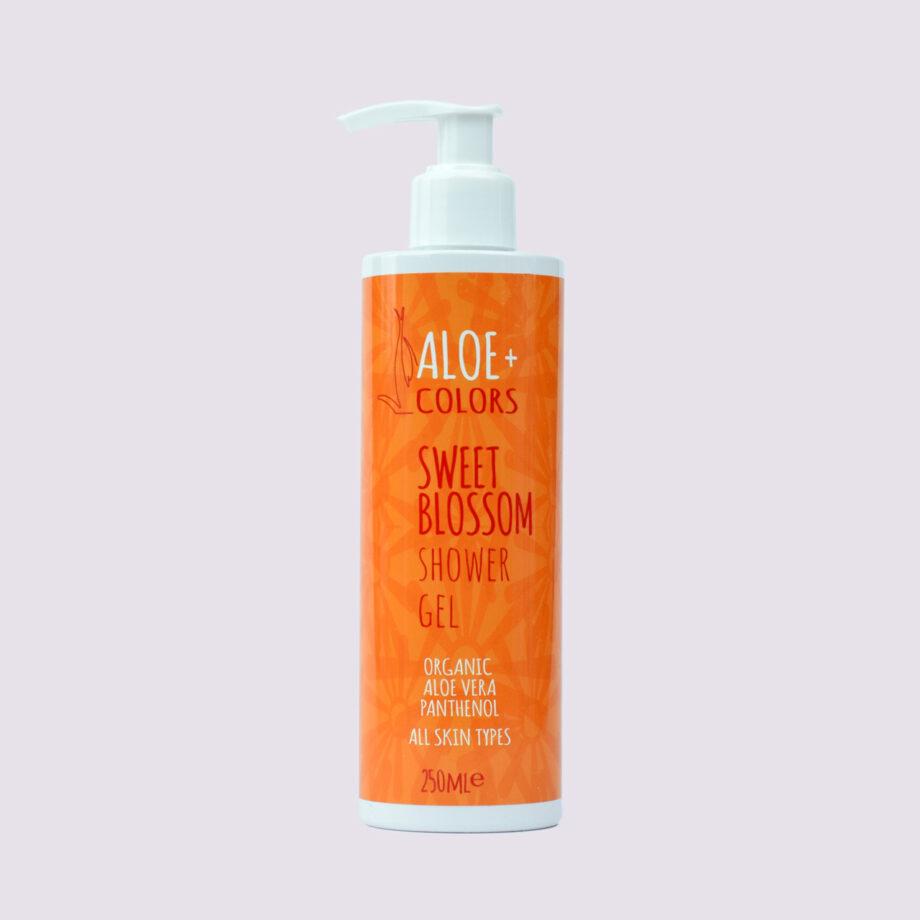Aφρόλουτρο Sweet Blossom Aloe+Colors με υπέροχο άρωμα vanilla-πορτοκάλι. Αφρόλουτρο 'Sweet Blossom',Aloe+Colors