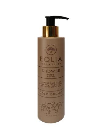 Αφρόλουτρο 'Gold Orchid', Eolia Cosmetics. Mε άρωμα Χρυσή Ορχιδέα