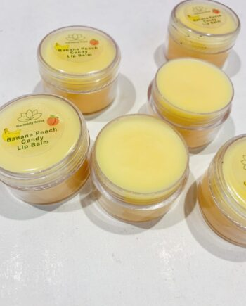 Θρεπτικό και πολύ γευστικό lip balm για τα χείλη σας. ΜΕ γεύση ροδάκινο και μπανάνα-Harmony Muse