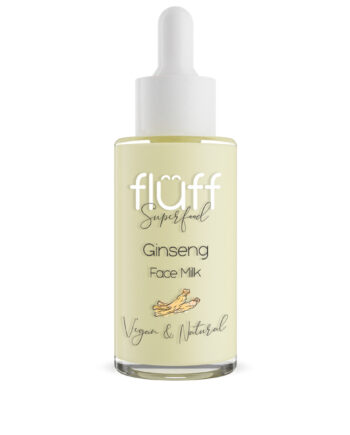 Serum με αντιγηραντική και αντιρυτιδική δράση.Περιέχει τζινσενγκ. Fluff Face Milk Ginseng Anti-aging