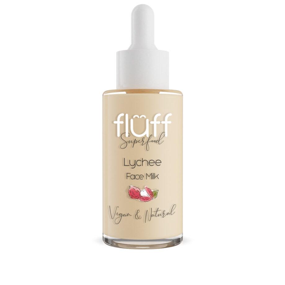 Serum για βαθιά ενυδάτωση της επιδερμίδας.Περιέχει το φρούτο lychee. Fluff Face Milk Lychee Hydrating