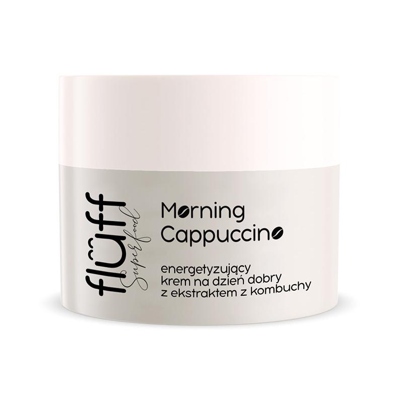 Eνυδατική κρέμα ημέρας λεπτής υφής με άρωμα καφέ cappuccino. Fluff Morning Cappuccino Day Face Cream