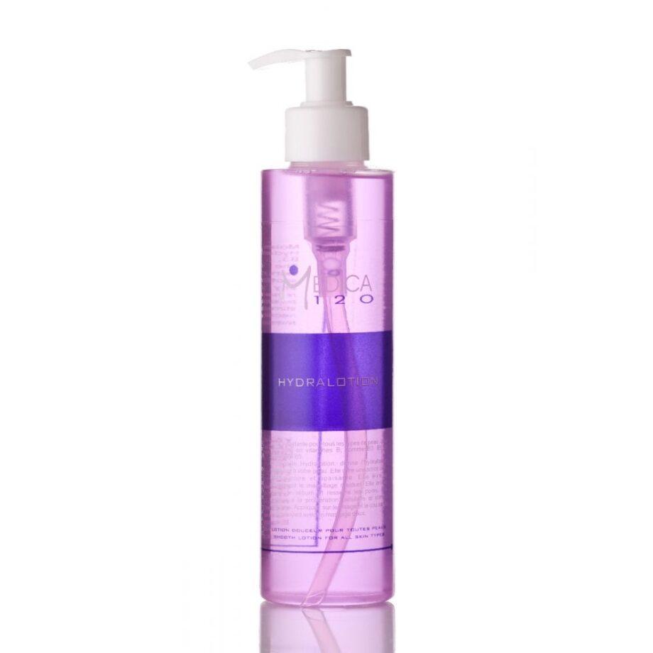 Πλούσια λοσιόν για την ανανέωση του αφυδατωμένου και ξηρού δέρματος. Για κανονικά, ξηρά και ευαίσθητα δέρματα. Hydralotion- Medica120